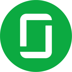 Glassdoor green circle icon