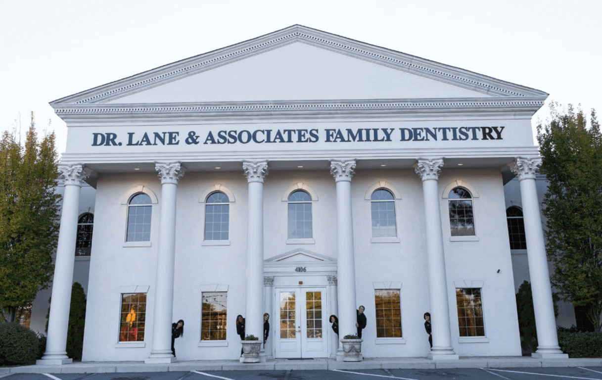 Raleigh Dentist office White building exterior