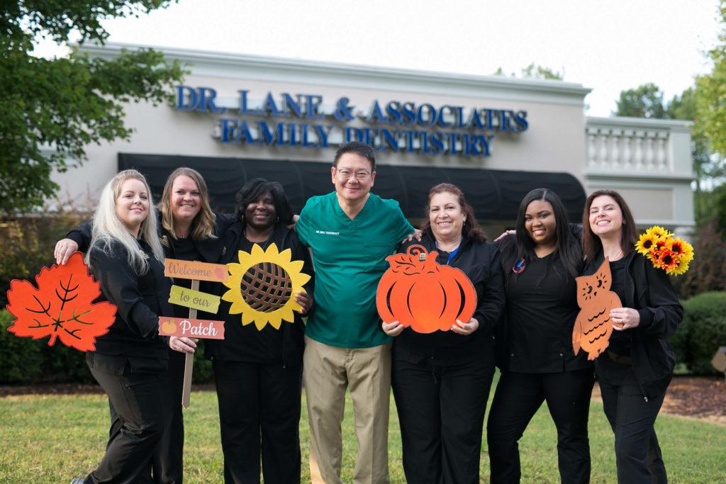 Fall dental staff group photo