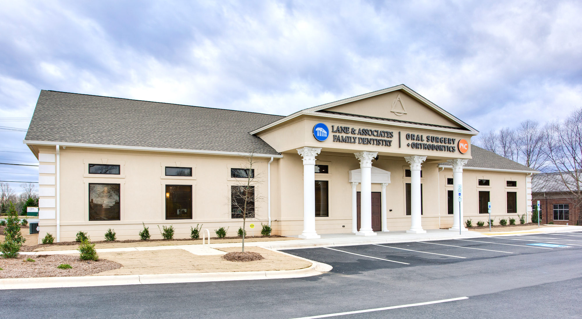 Brand New Winston Salem Dental Office off of Country Club Rd and Piccadilly Drive