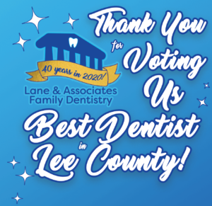 best of lee county thank you graphic