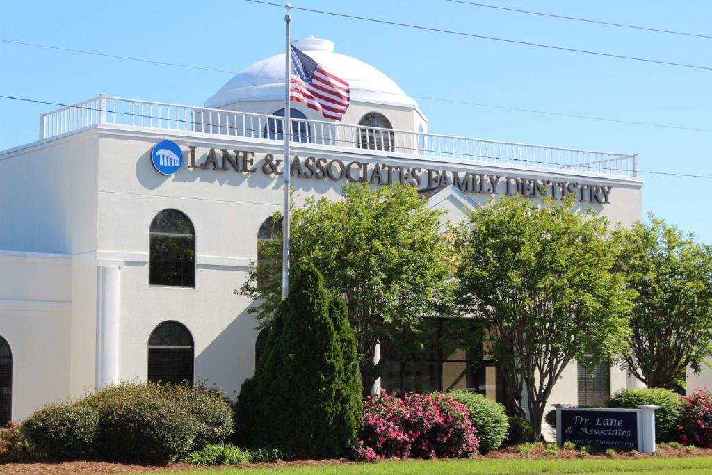 lane and associates fuquay office exterior