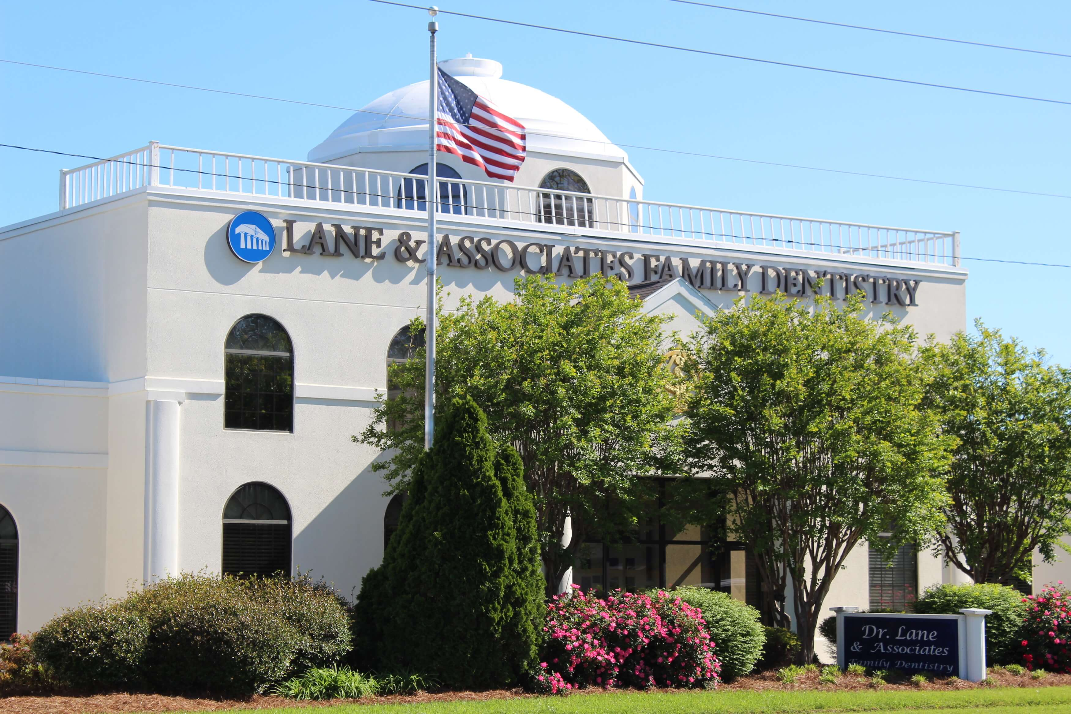 lane and associates fuquay office exterior