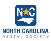 blue logo with state of north carolina symbol and yellow star