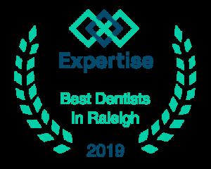 expertise best dentist in raleigh 2019 logo
