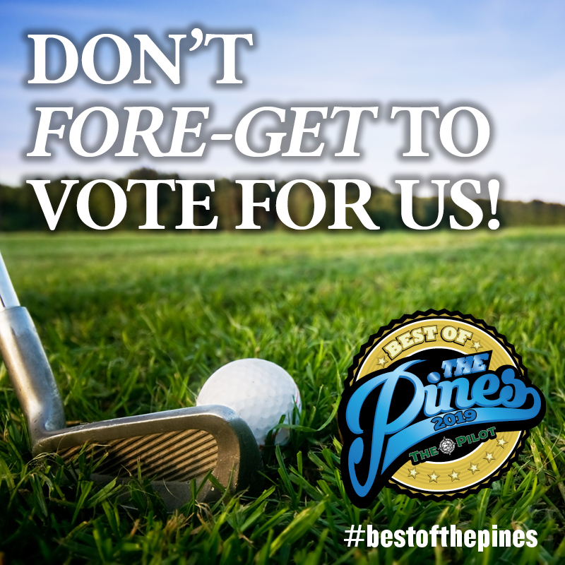 Don't Fore-get to Vote for Us