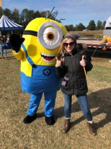 Minion at Family Day