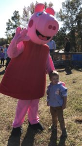 Peppa Pig at Family Day