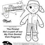 pirate tooth fairy doll coloring page