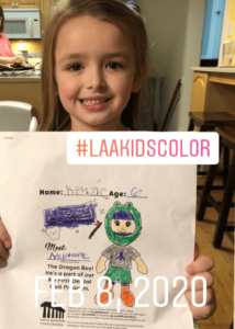 laa kids color winner 7