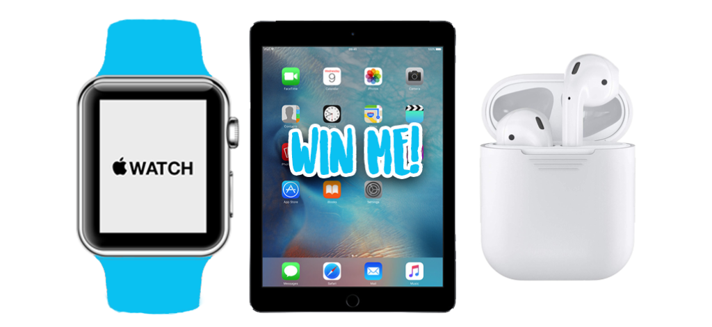 apple prize pack of apple watch ipad mini and airpods