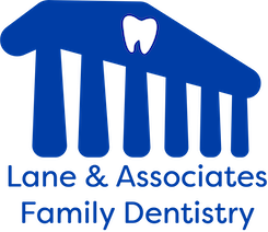 Lane and Associates Family Dentistry blue logo