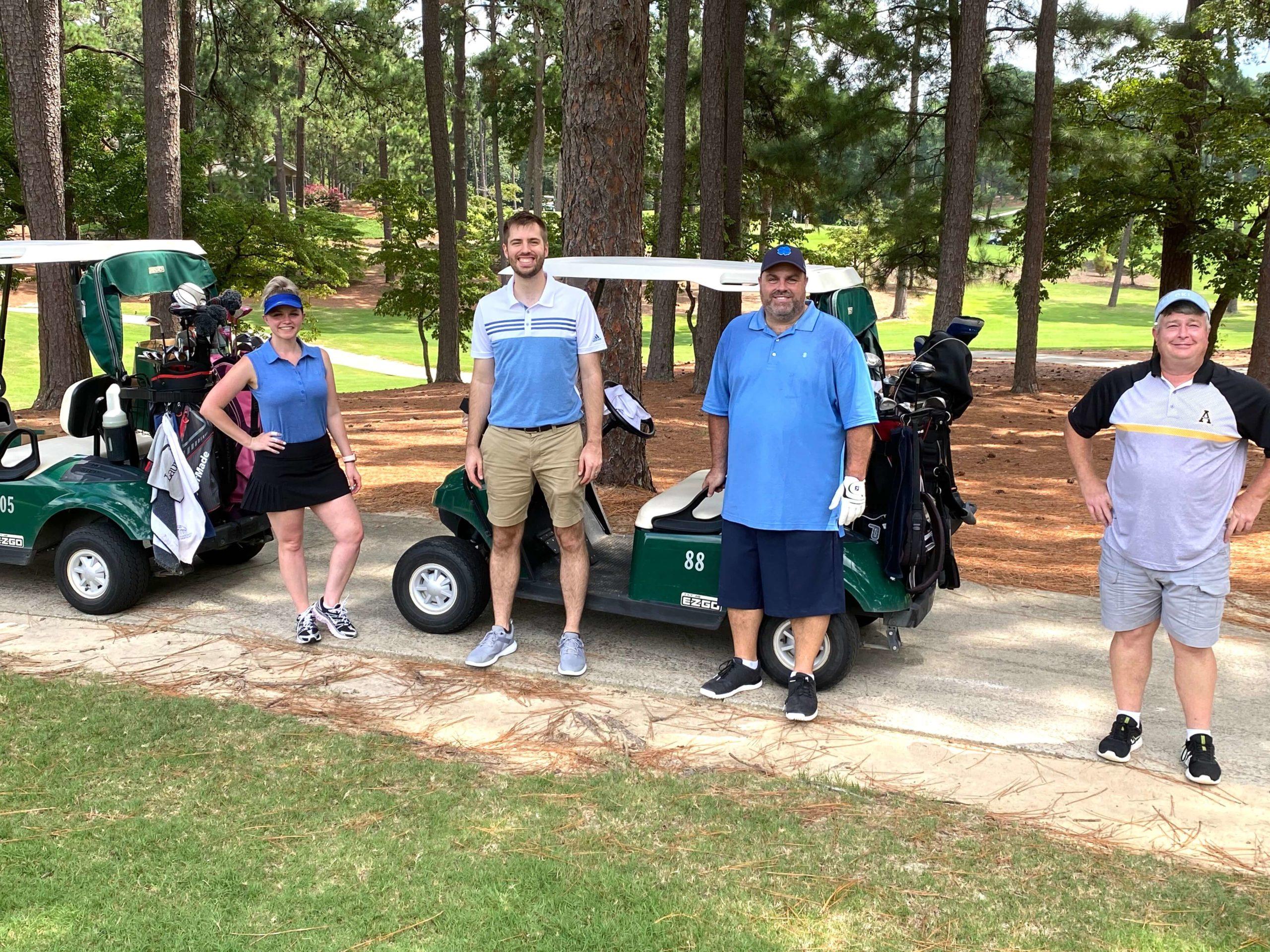 Lane employees at NCDSF Golf Challenge