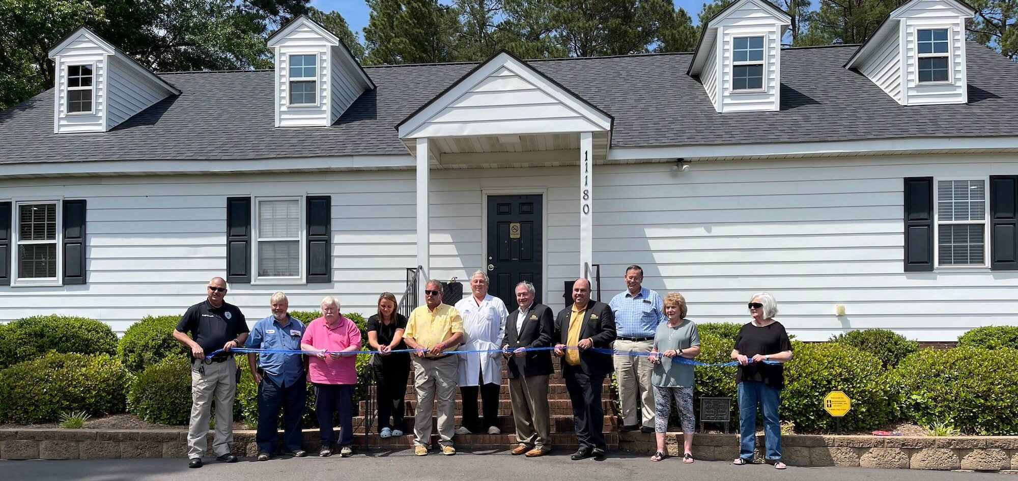 Middlesex NC Dentist Office Ribbon Cutting
