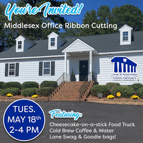 Middlesex Ribbon cutting invitation
