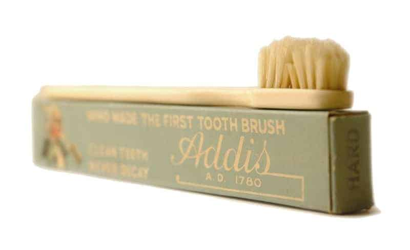 early manual toothbrush